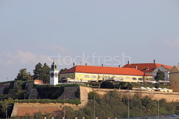 Triste Sérvia céu viajar castelo Foto stock © goce