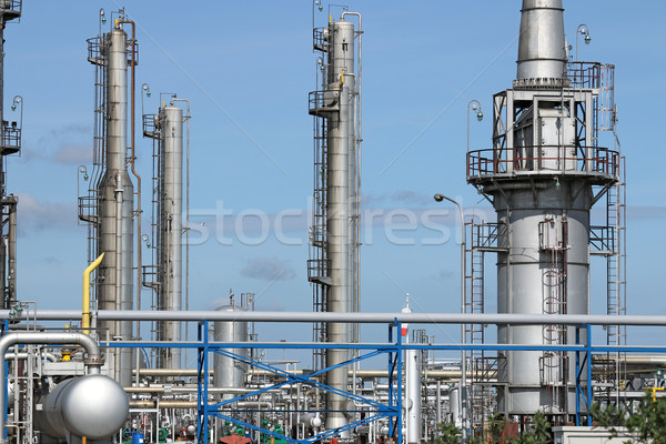 oil industry petrochemical plant  Stock photo © goce
