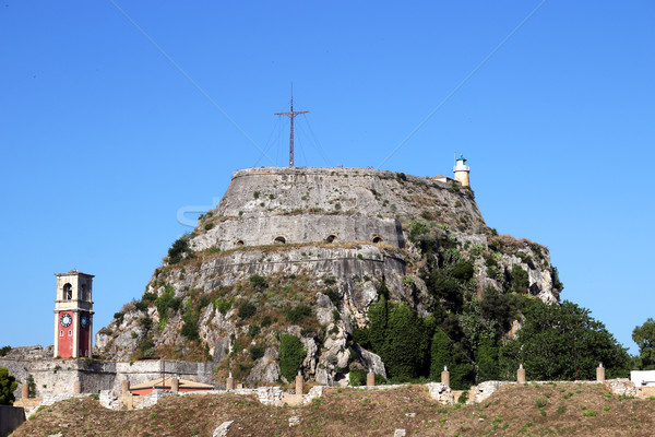 old fortress on Corfu island Greece Stock photo © goce