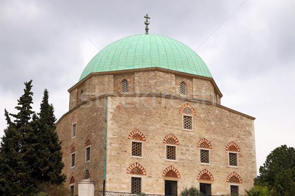 мечети Венгрия город крест путешествия городского Сток-фото © goce