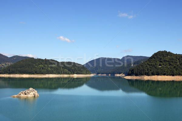 morning on Zaovine lake Serbia Stock photo © goce