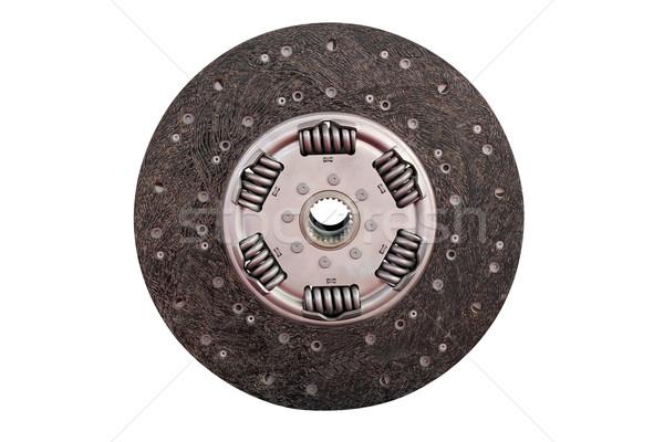 Auto Teile Kupplung Disc isoliert weiß Stock foto © goce