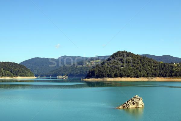Lago montana Serbia naturaleza paisaje viaje Foto stock © goce