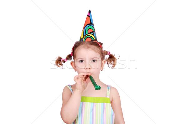 beauty little girl birthday Stock photo © goce