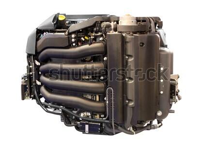 Yate motor aislado barco industria buque Foto stock © goce