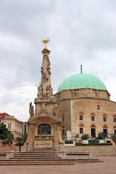 Pasha Qasim Mosque Pecs Hungary Europe Stock photo © goce