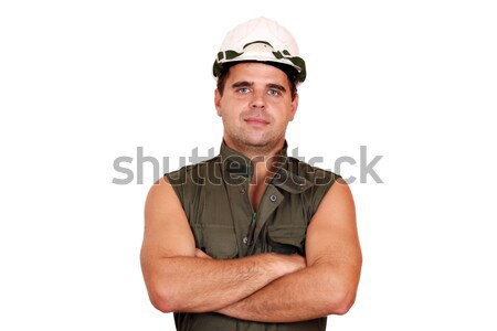 oil worker posing Stock photo © goce