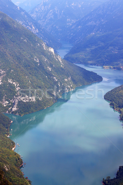 Drina river canyon Banjska stena viewpoint Tara mountain Serbia Stock photo © goce