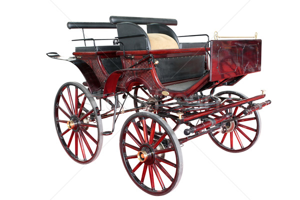 old carriage isolated on white background  Stock photo © goce