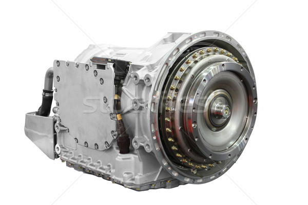 automatic transmission for heavy truck isolated Stock photo © goce