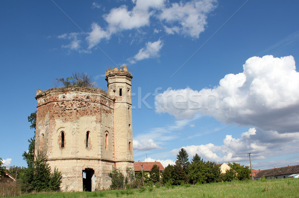 old castle ruin eastern europe Stock photo © goce