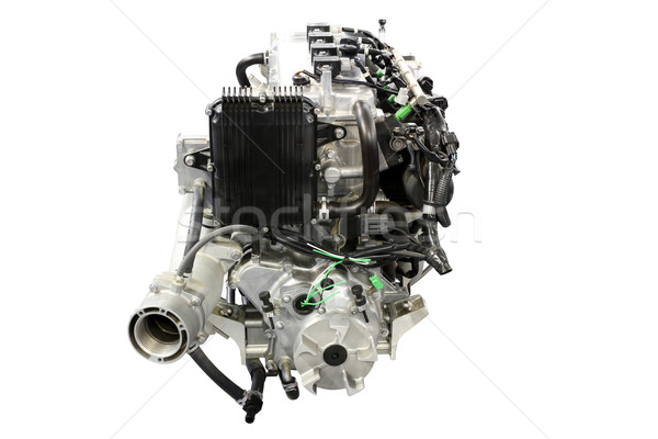 boat engine front view Stock photo © goce
