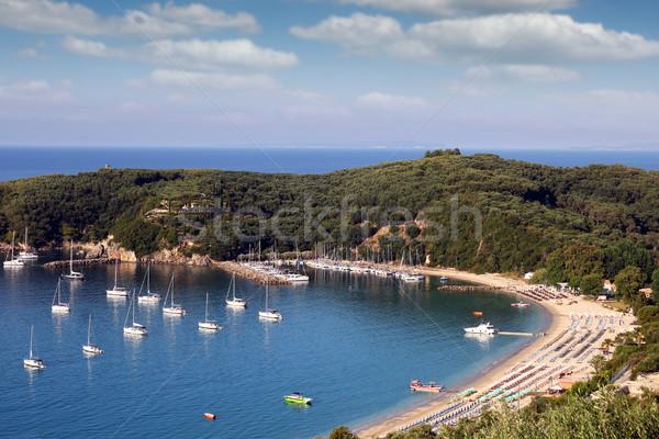 Stock fotó: Tengerpart · nyár · évszak · víz · természet · tenger