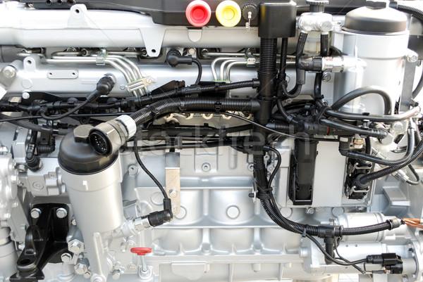 heavy truck engine close up Stock photo © goce