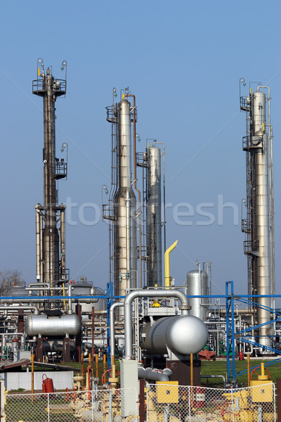 oil industry petrochemical plant detail Stock photo © goce