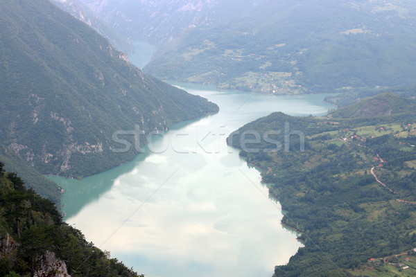 River canyon mountain nature landscape Stock photo © goce
