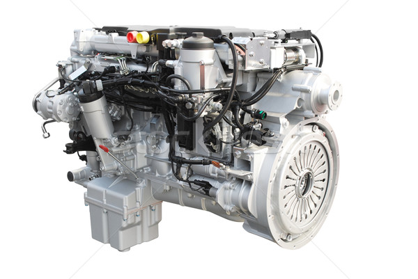 heavy truck engine isolated Stock photo © goce