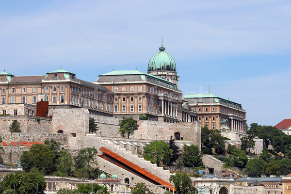 Royal castle on hill Budapest Hungary Stock photo © goce