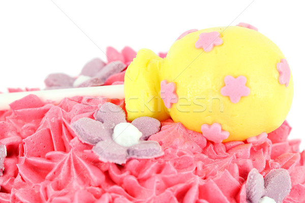 cake with lollipop food background  Stock photo © goce
