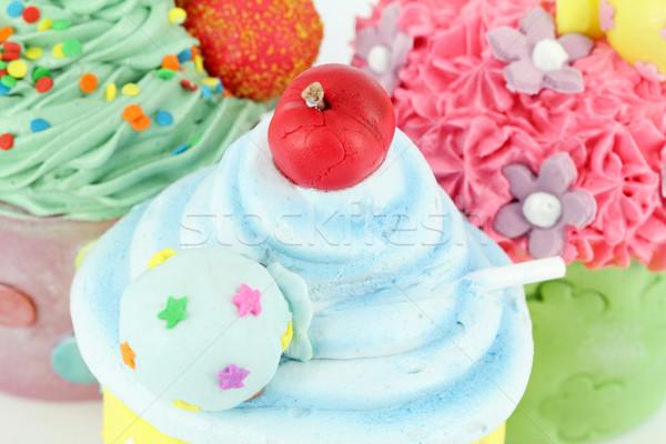 Coloré sweet dessert alimentaire fête Photo stock © goce