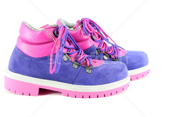 children hiking boots Stock photo © goce