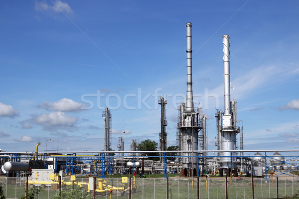 petrochemical factory oil and gas industry Stock photo © goce