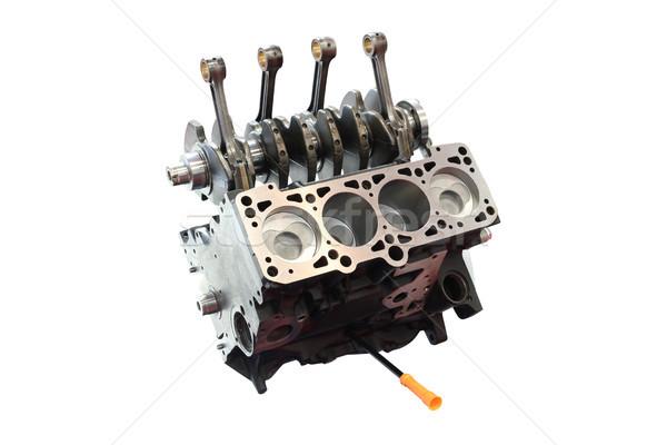 Araba motor yalıtılmış teknoloji hızlandırmak endüstriyel Stok fotoğraf © goce