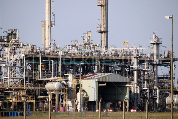 petrochemical plant detail heavy industry Stock photo © goce