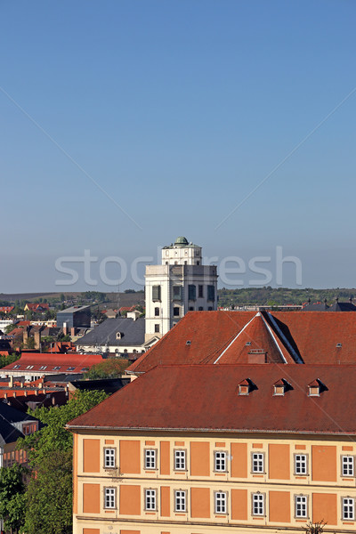 observatory building Eger Hungary Stock photo © goce