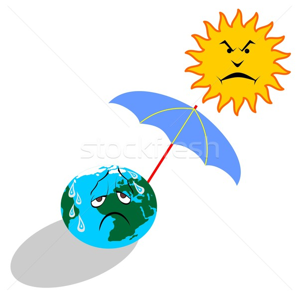global warming Stock photo © goce