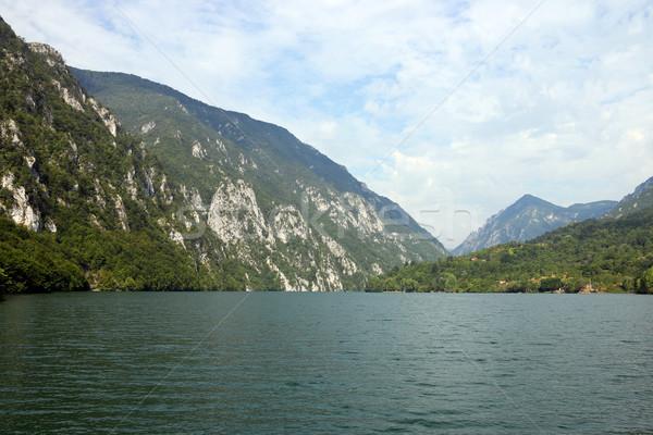 Drina river canyon landscape summer season Stock photo © goce