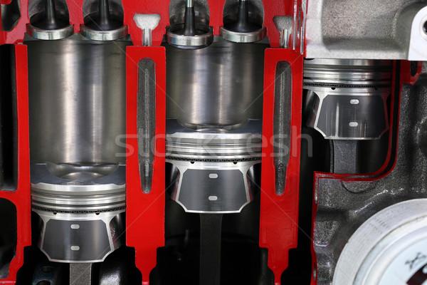 Araba motor detay güç makine çelik Stok fotoğraf © goce