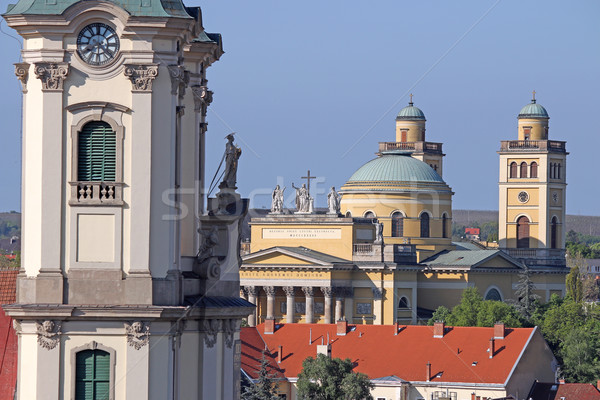 Cathedral and basilica of Eger Hungary Stock photo © goce