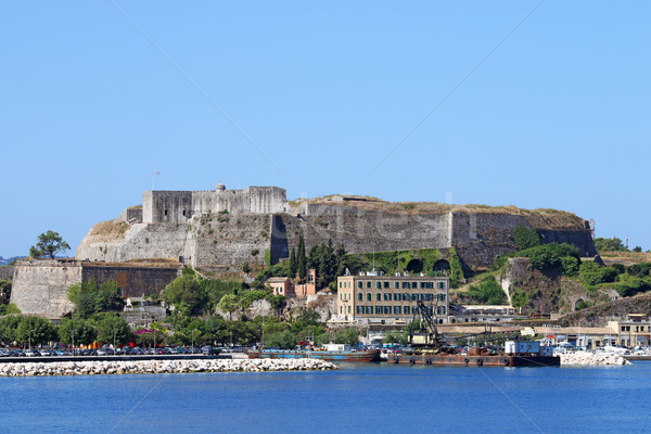 new fortress Corfu town Greece summer season Stock photo © goce