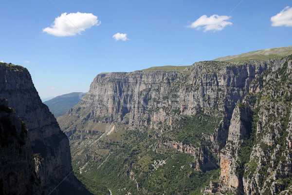 Vikos gorge Pindos mountain Zagoria Greece  Stock photo © goce