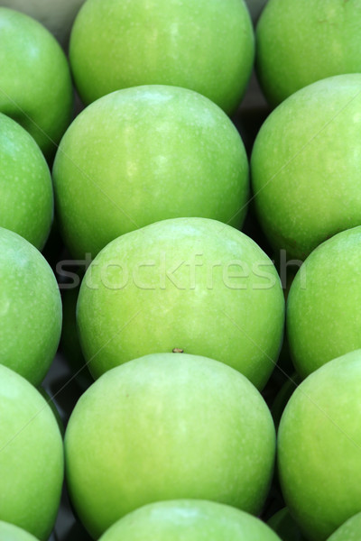 green apple nature background Stock fotó © goce