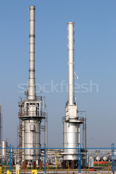 petrochemical plant oil industry technology Stock photo © goce