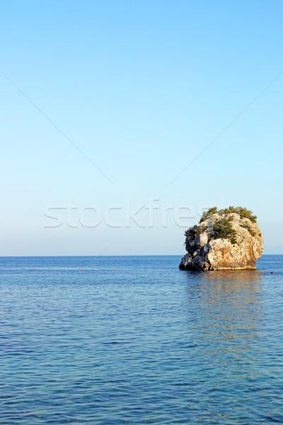 Rock mare cielo acqua estate blu Foto d'archivio © goce