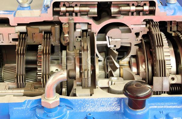 heavy truck gearshift close up Stock photo © goce