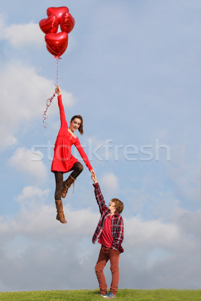 valentines day couple Stock photo © godfer