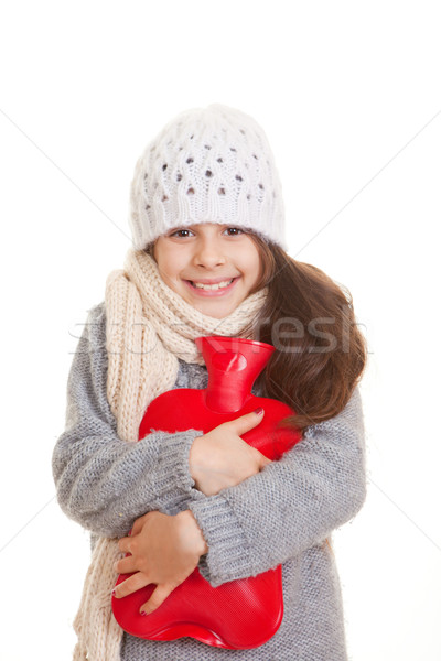 winter child Stock photo © godfer