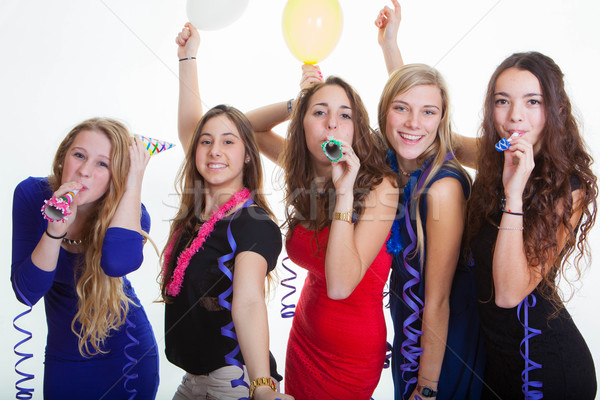 girls night out partying Stock photo © godfer
