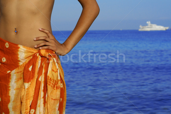 summer vacation Stock photo © godfer