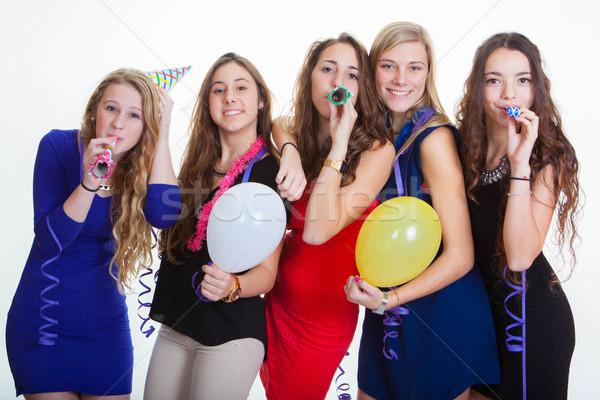 new years eve party celebrations Stock photo © godfer