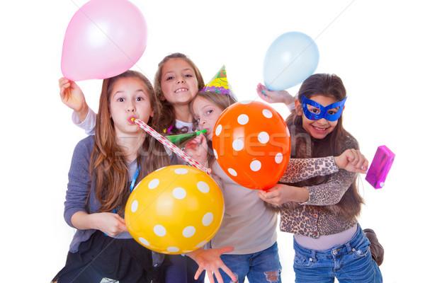 kids birthday party Stock photo © godfer