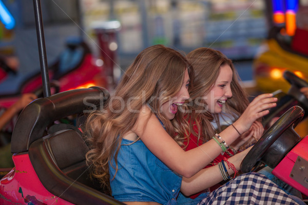 fun at the fair Stock photo © godfer