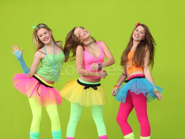 Feliz fiesta ninos baile ninos danza Foto stock © godfer