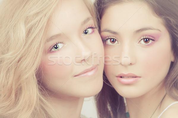 женщины идеальный кожи безупречный Сток-фото © godfer