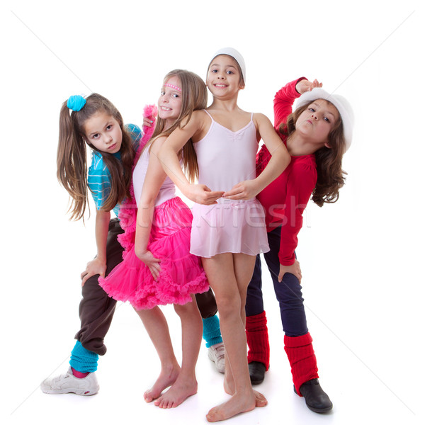 kids dance school Stock photo © godfer