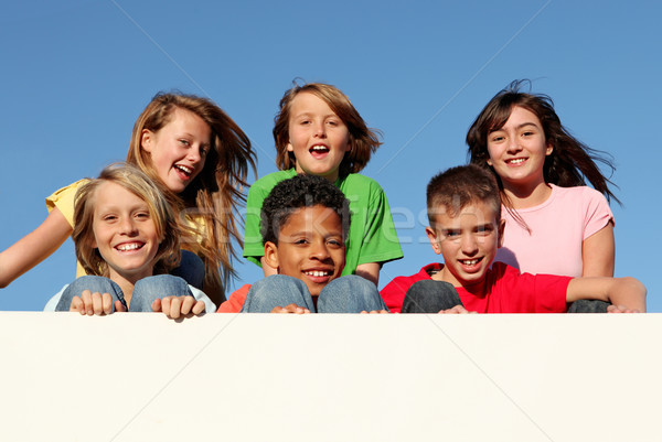 summer camp Stock photo © godfer
